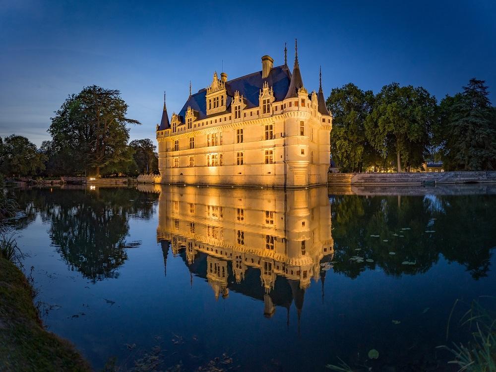 Les châteaux de la Loire sublimés par la gamme Art